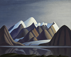 Lawren Harris Mount Thule, Bylot Island, 1930 oil on canvas Collection of the Vancouver Art Gallery Gift of the Vancouver Art Gallery Women's Auxiliary Photo by Rachel Topham, Vancouver Art Gallery