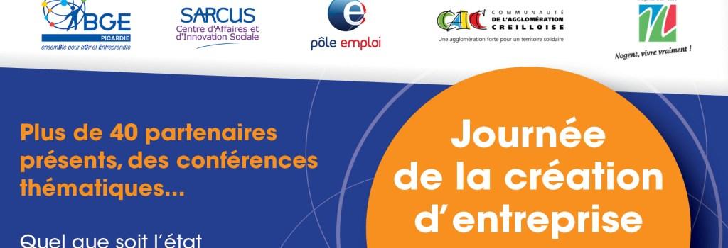 Journée création d'entreprise, 9 avril 2015 à Nogent-sur-Oise