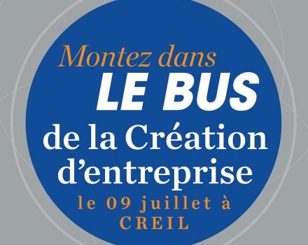 Le BGE Bus sera présent à Creil, le 09 juillet 2018