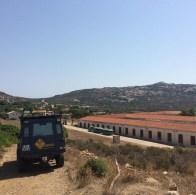 Carcere sull'isola dell'Asinara (foto alelonis su Instagram)