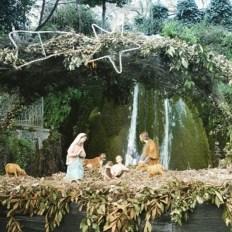 Presepe alla Cascata di San Valentino a Sadali (foto Instagram @sardinia12)