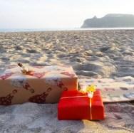 Natale al mare, Poetto - Cagliari (foto Instagram @m_mats_)