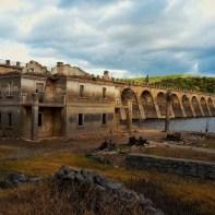 I resti della diga di Santa Chiara - foto Instagram @fedesanna92