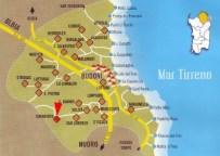 Il territorio di Budoni con le sue spiagge