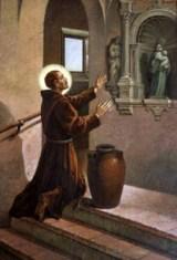 Sant'Ignazio da Làconi parla con la Madonna