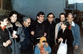 Medjugorje: pellegrini sardi con al centro padre Petar Ljubičić – Foto di Sardegna Terra di Pace – Tutti i diritti riservati