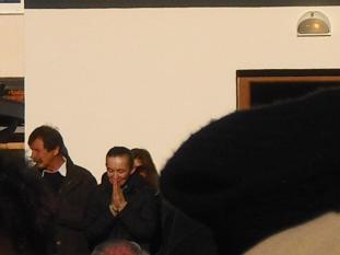 Medjugorje, Capodanno 2011: Vicka saluta i fedeli - Foto di gospodine - Tutti i diritti riservati