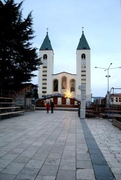 Medjugorje, Capodanno 2015: Chiesa di San Giacomo (2) – Foto di Sardegna Terra di pace – Tutti i diritti riservati