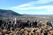 Medjugorje, Capodanno 2015: salita al Podbrdo (5) – Foto di Sardegna Terra di pace – Tutti i diritti riservati