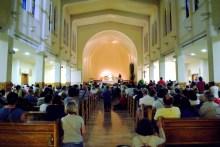 Medjugorje, Anniversario Apparizioni 2016: Veglia di Adorazione Eucaristica – Foto di Sardegna Terra di pace – Tutti i diritti riservati