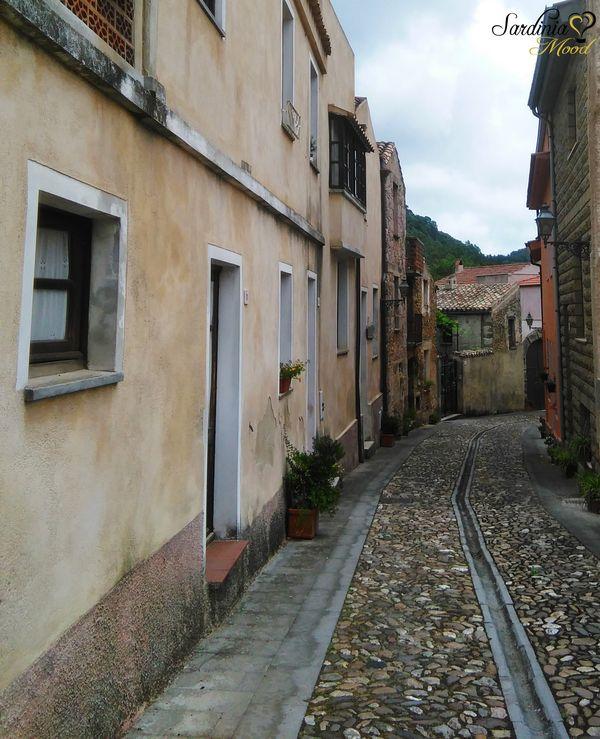 Vie del Centro storico di Laconi