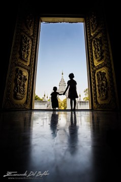 Monastero in Myanmar