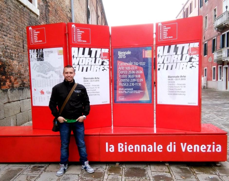 Ingresso alla Biennale