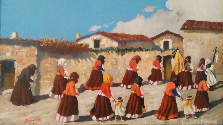 Giovedì santo - Francesco Congiu Pes (1928)