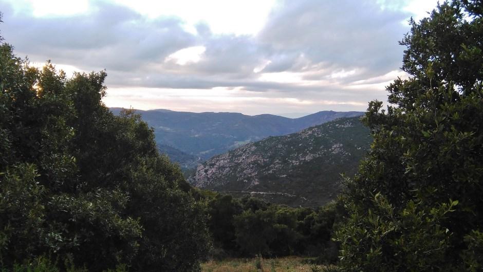 Paesaggio nei dintorni di Ovodda