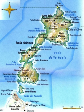 L'Asinara. Fonte: www.bosaweb.it