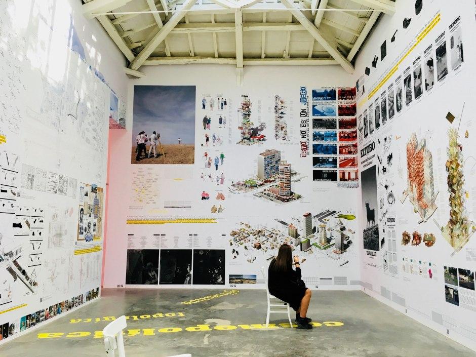 Biennale Architettura 2018 cosa vedere: padiglione della Spagna