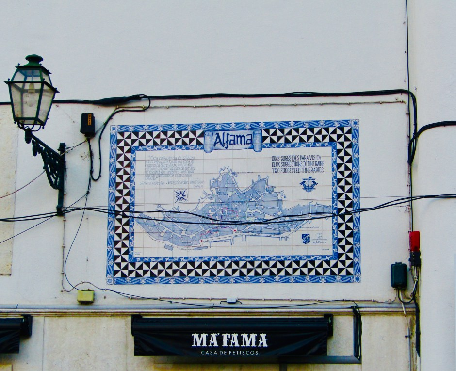 Alfama mappa