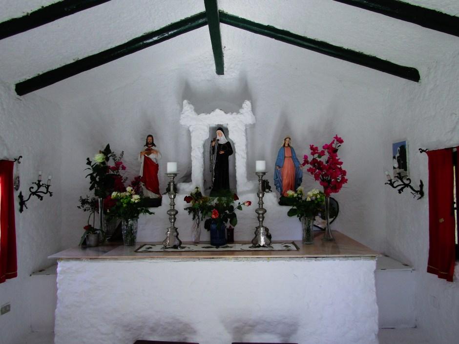 La chiesa di Santa Rita a Porto Rafael