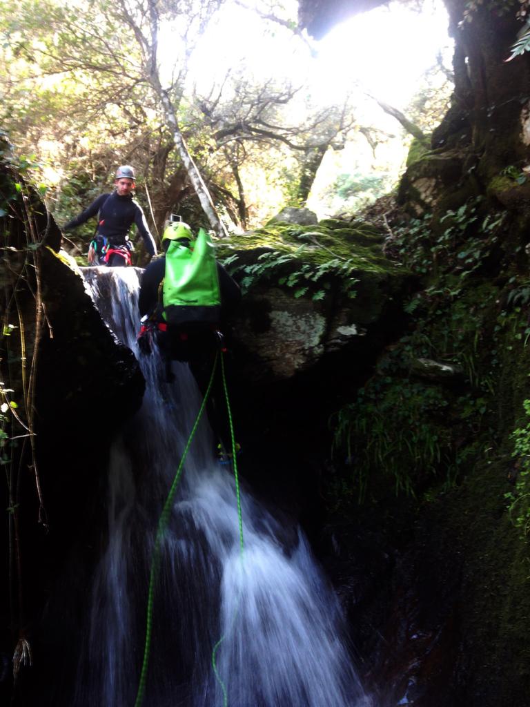 Canale de Urgua Canyoning, sardinia wild canyoning, wild experiences