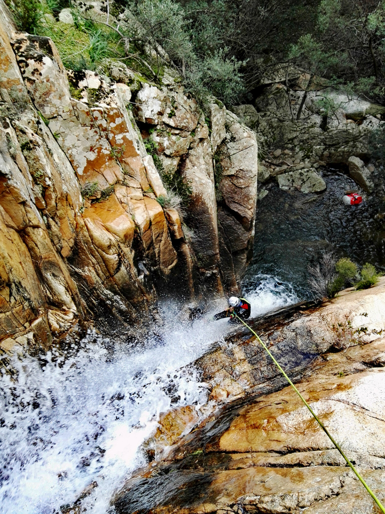 rio sa cresia, waterfall riders, descend waterfall, outdoor activities