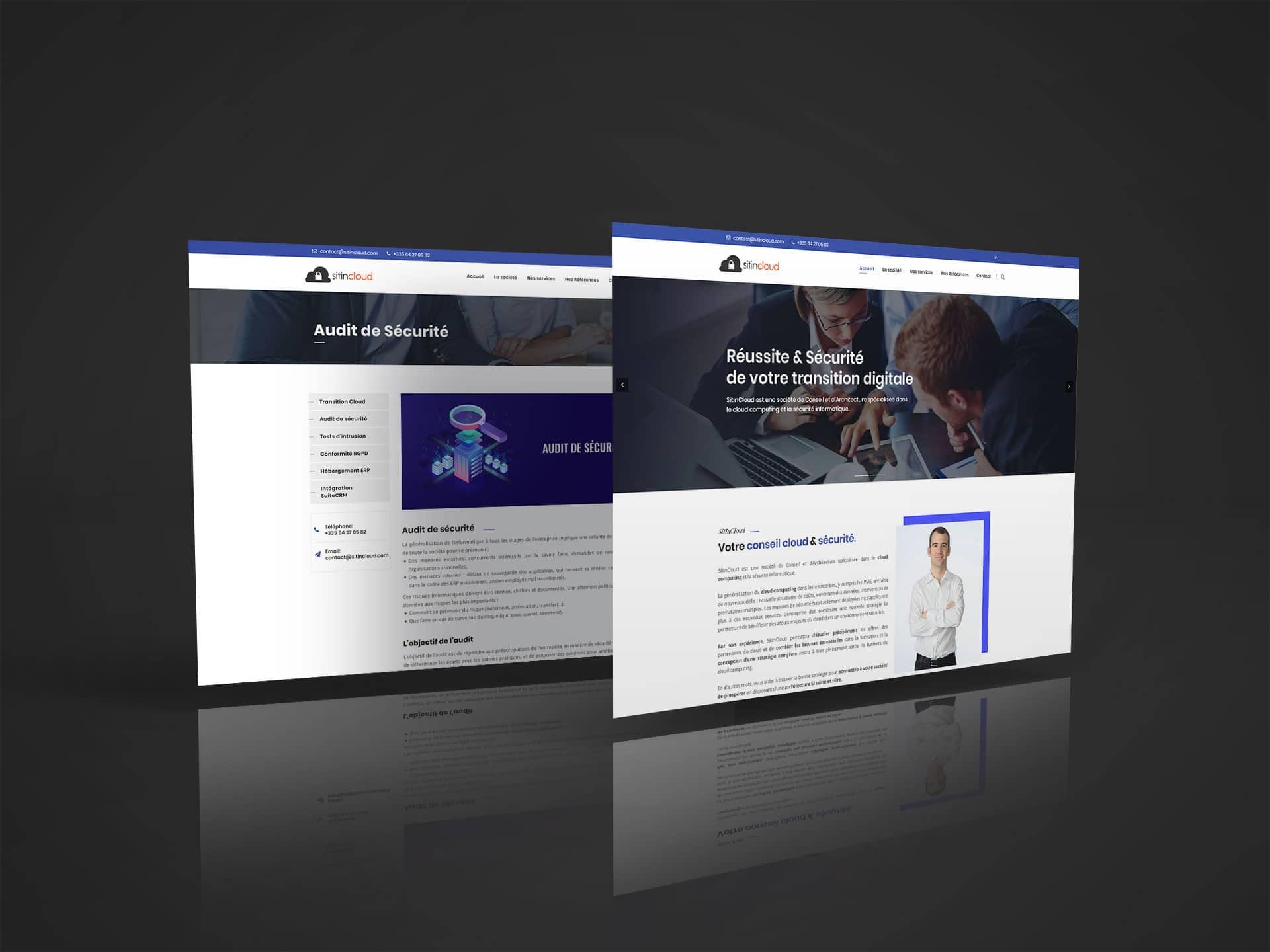 Site web SitInCloud à Chéraute