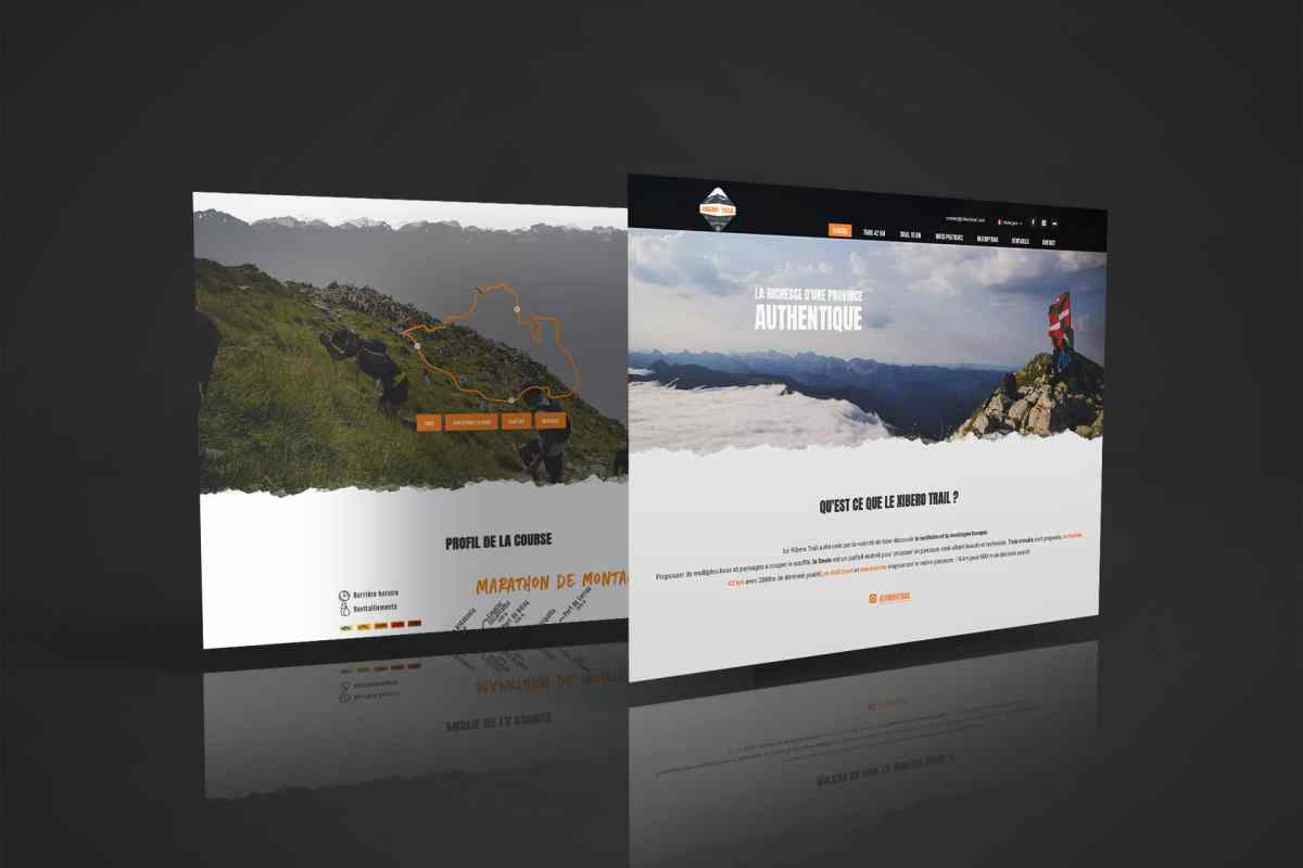 Site web Xibero Trail de Larrau en Haute Soule