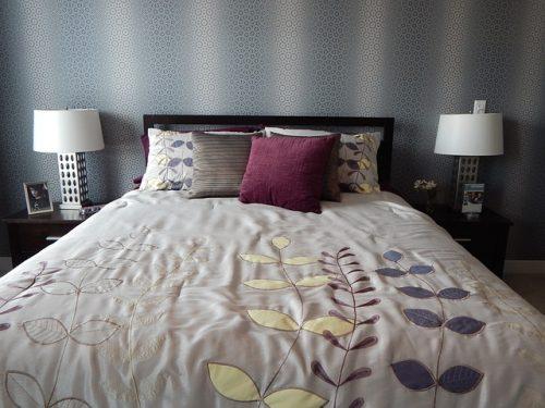 空のベッド