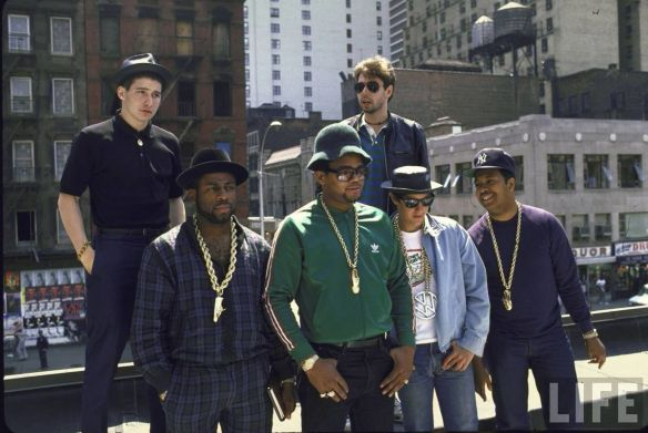 The Beastie Boys and Run DMC