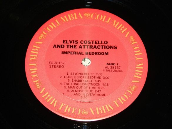 Imperial Bedroom by Elvis Costello and the Attractions