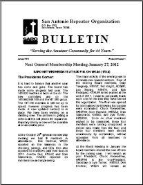 January 2012 SARO Bulletin