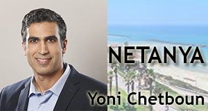 Yoni Chetboun, municipales 2018 Netanya