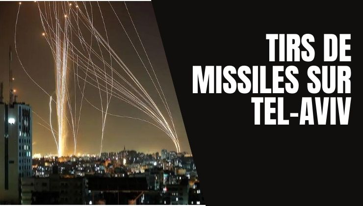 Tir de missiles sur Tel Aviv