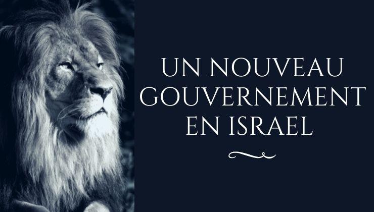 Un nouveau gouvernement en Israel