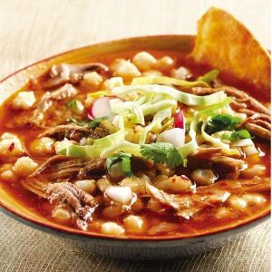 Pozole Rojo with Pulled Pork