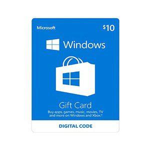 Microsoft Gift Card 10$