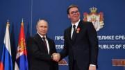 Putin in Serbien