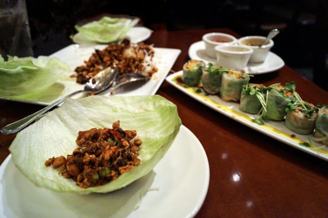 Lettuce Wraps @ P.F. Changs