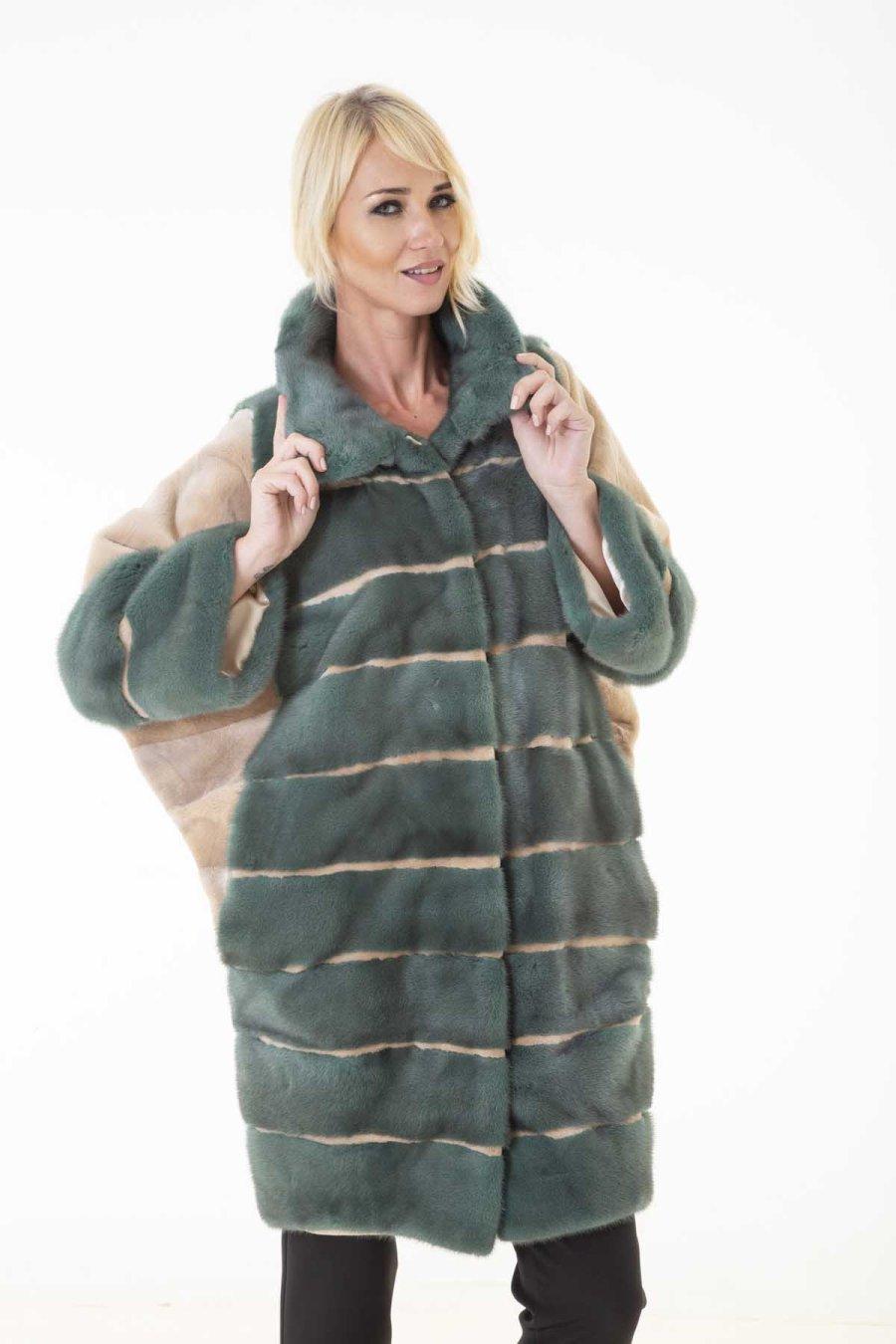 Esmeralda - Male Mink Fur Jacket | Эсмеральда – Пальто из меха норки - Sarigianni Furs