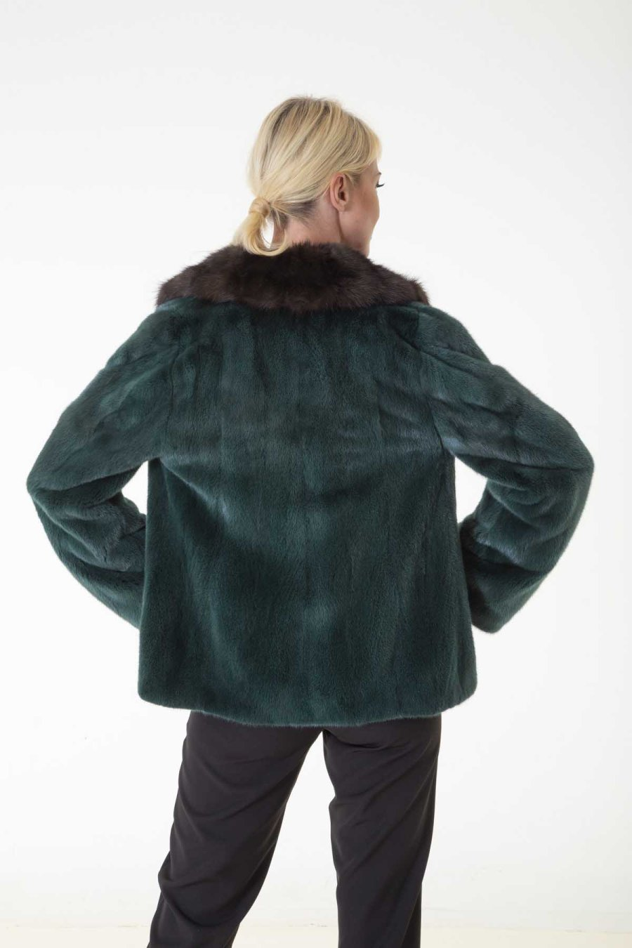 Aurora - Female Mink Farm Jacket | Аврора – Пальто из меха норки - Sarigianni Furs