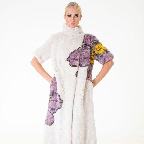 Beige Male Mink Coat | Sarigianni Furs