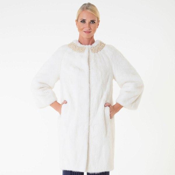 Pearl Male Mink Jacket   Sarigianni Furs