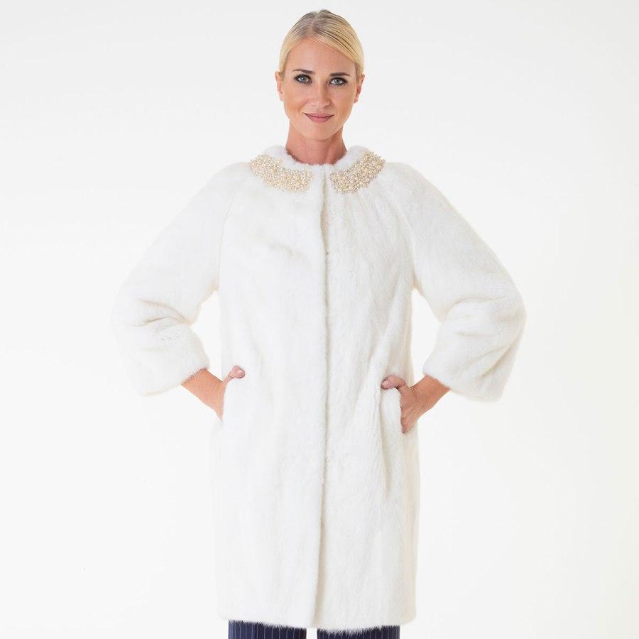 Pearl Male Mink Jacket | Sarigianni Furs