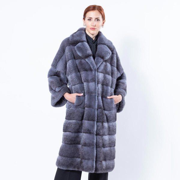 Grey Mink Coat   Sarigianni Furs