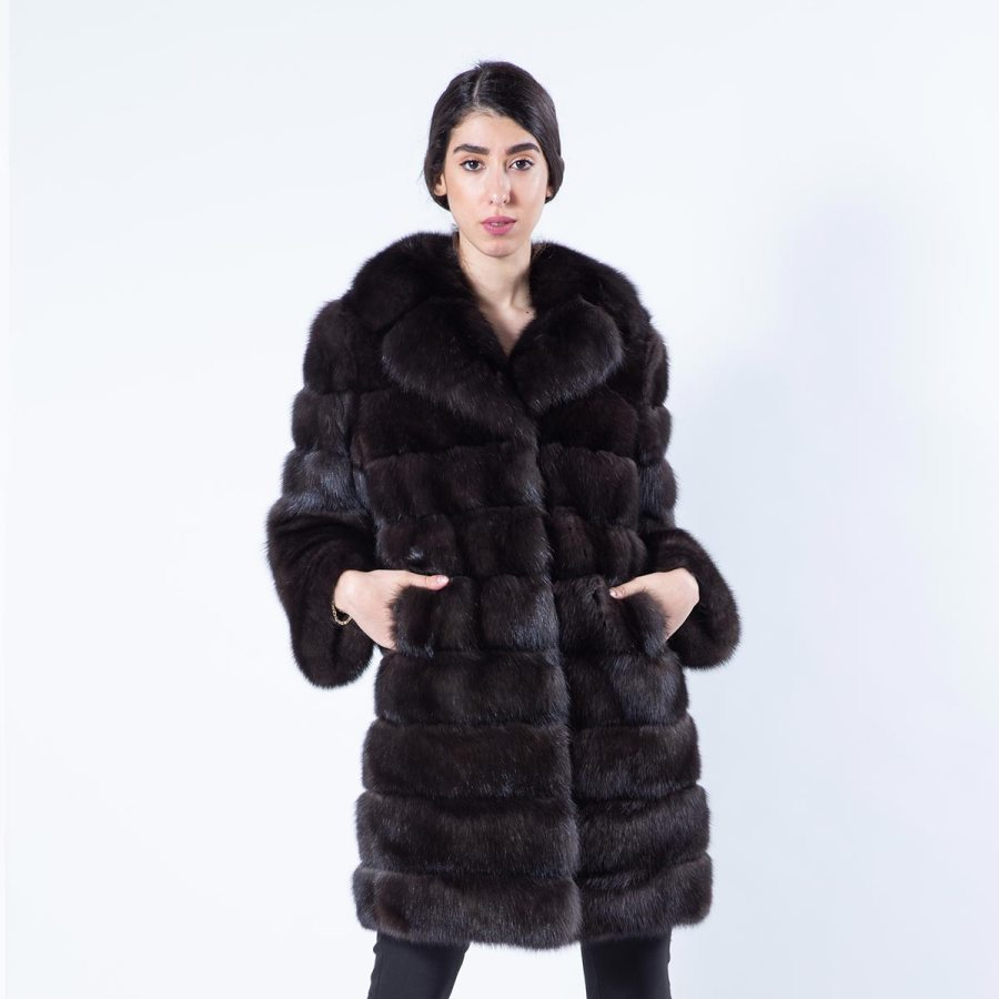 Barguzin Sable Jacket | Sarigianni Furs