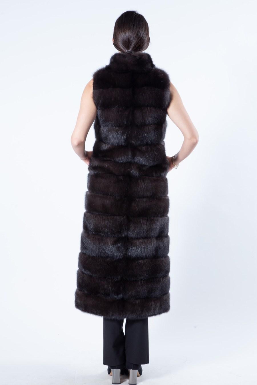 Barguzin Sable Vest | Sarigianni Furs