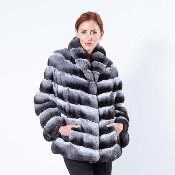 Chinchilla Jacket | Sarigianni Furs