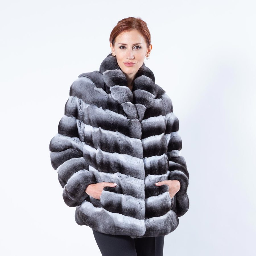 Chinchilla Jacket | Sarigianni Furs