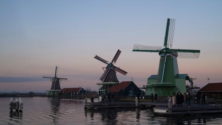 This is windmills - zaanse schans