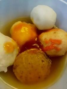 Bakso sea food olahan